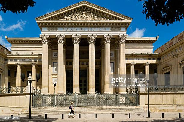 The law court building, Nimes,Gard,France