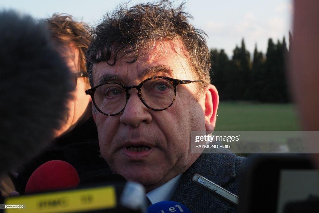 FRANCE-ACCIDENT : ニュース写真