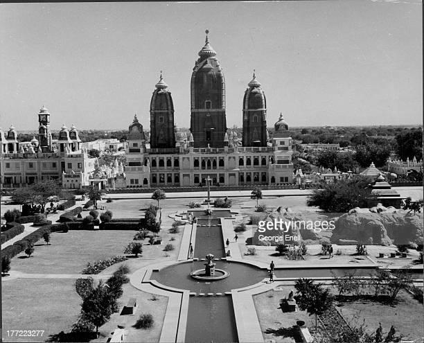The Laxminarayan Temple a Hindu temple in New Delhi India circa 19551970