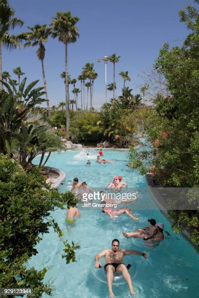 The Lazy River Tubing ride at the Wet'n Wild water park