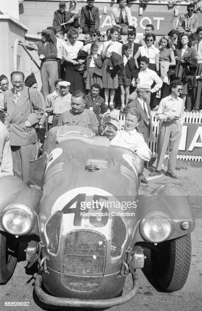 The Le Mans 24 Hours Le Mans June 1415 1952 A tight fit Gordon Wilkins and Marcel Becquart look like this more 'competition' version of their Jowett...