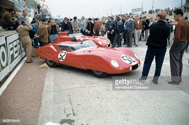 The Le Mans 24 Hours Le Mans June 2021 1959 One of the lovely small OSCAs this one a 750 Sport driven by Jean Laroche and André Testut Unfortunately...