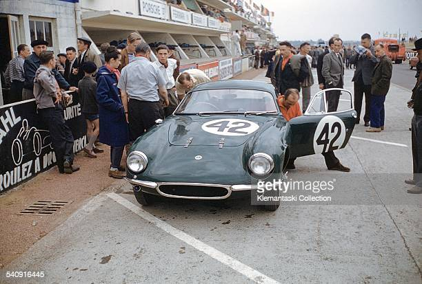 The Le Mans 24 Hours Le Mans June 2021 1959 The Lotus Elite which was driven by Jim Clark and John Whitmore into 10th place