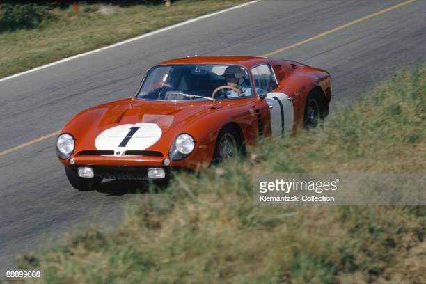 The Le Mans 24 Hours Le Mans June 20/21 1964 The Chevroletpowered Bizzarrini Iso Grifo A3C driven by Pierre Noblet and Edgar Berney finished 14th...