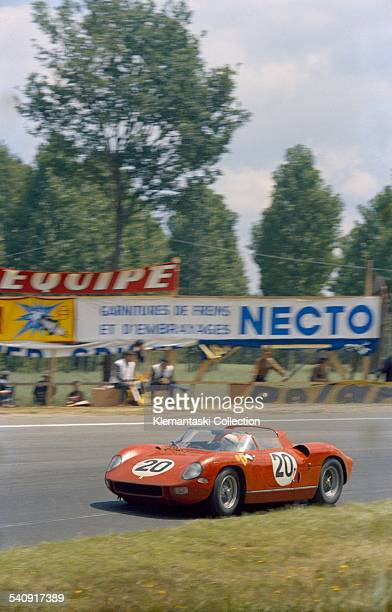 The Le Mans 24 Hours Le Mans June 2021 1964 This is the winning Ferrari 275P which was driven by Jean Guichet and Nino Vaccarella here running...