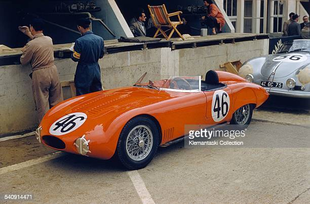 The Le Mans 24 Hours Le Mans June 2223 1957 The lovely little OSCA 750 Sport which will be driven by Jean Laroche and Rémy Radix into 19th place at...