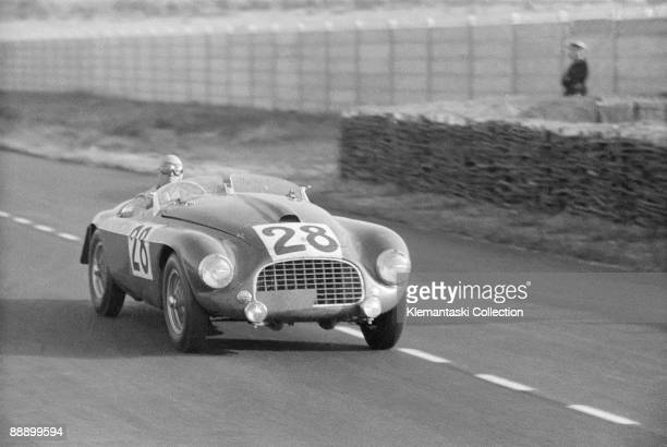 The Le Mans 24 Hours Le Mans June 2425 1950 A wonderful closein photo of a Ferrari 166MM barchetta here with Jean Lucas at the wheel