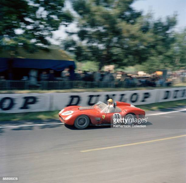 The Le Mans 24 Hours Le Mans June 2526 1960 The very capable driver Belgian journalist Paul Frère won with this 250TRI/59 after leading the race for...