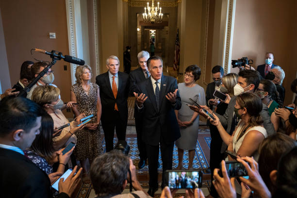 DC: Lawmakers Continue To Work On Bipartisan Infrastructure Deal On Capitol Hill