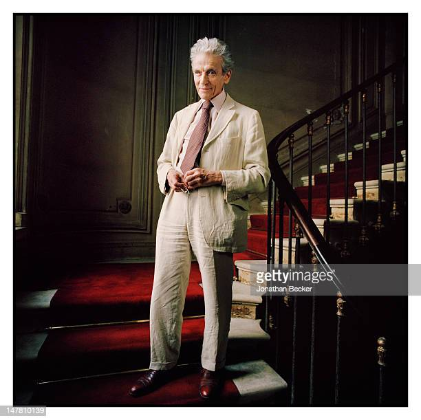 The lead lawyer in the effort of the Renault's heirs to gain compensation Thierry Levy poses for Town Country Magazine on September 30 2011 in Paris...