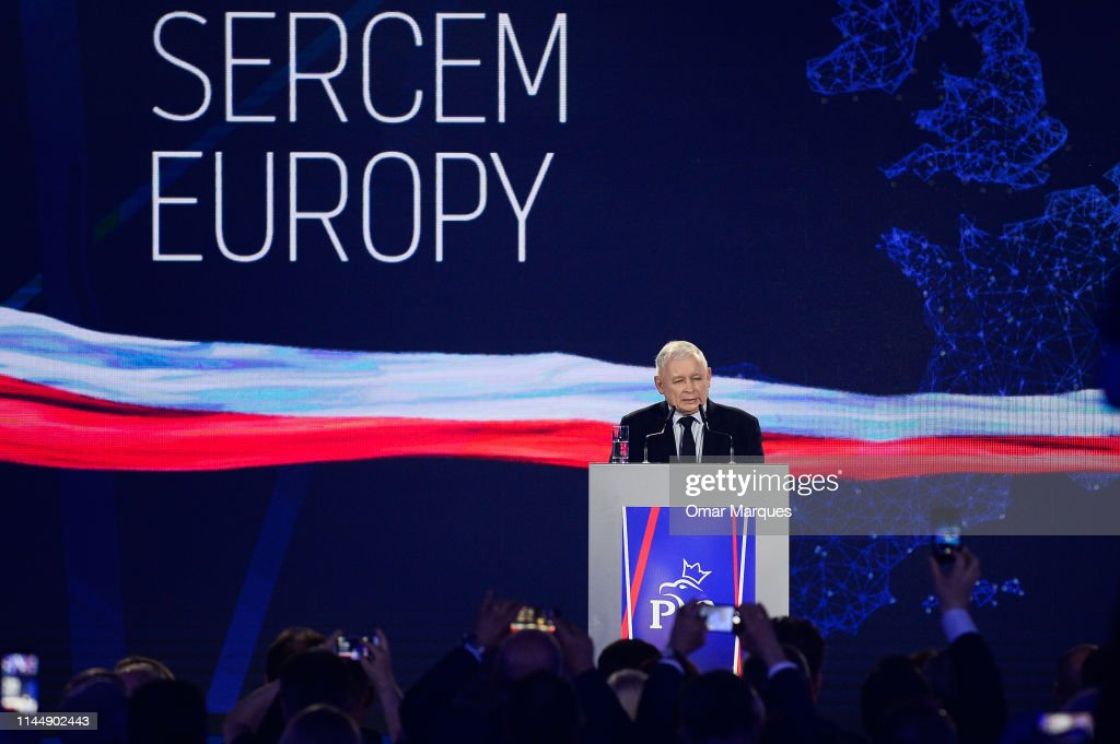 POL: Poland's Law And Justice Party Campaigns Ahead Of Thursday's EU Election