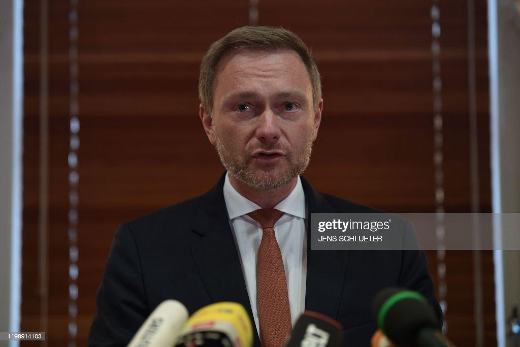 GERMANY-POLITICS-PARTIES-FARRIGHT-AFD-FDP-THURINGIA : Nachrichtenfoto