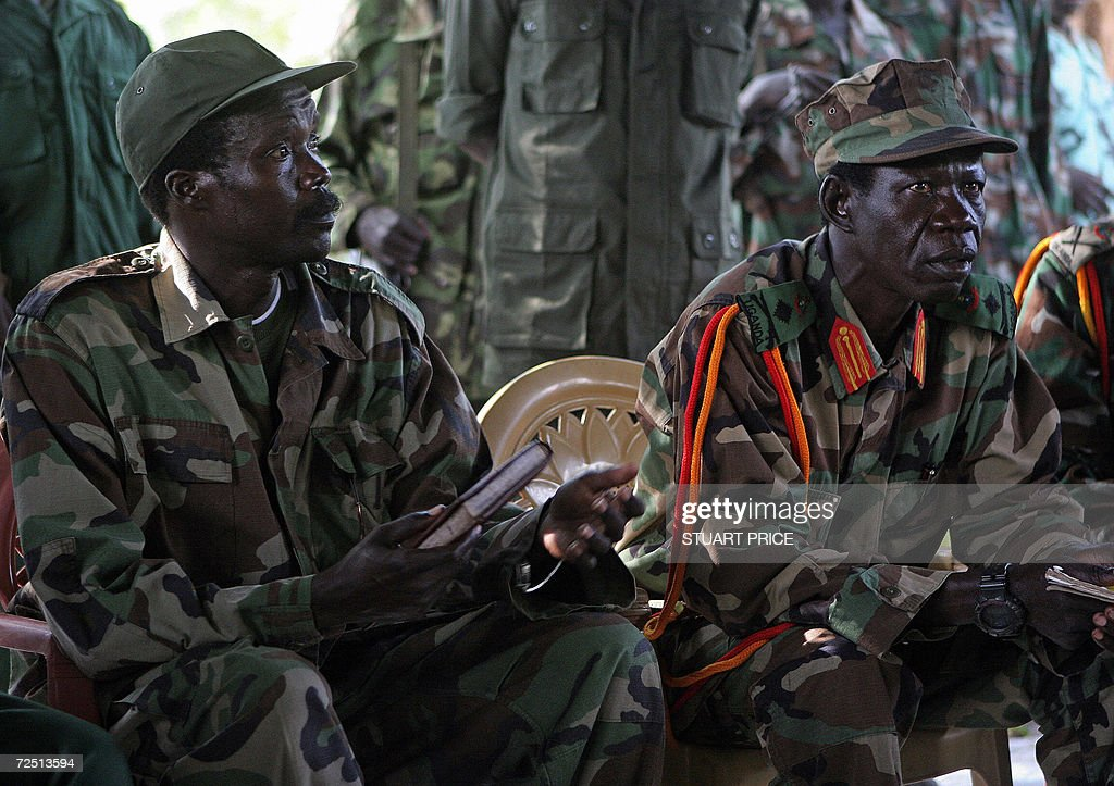 The leader of the Lord's Resistance Army : News Photo