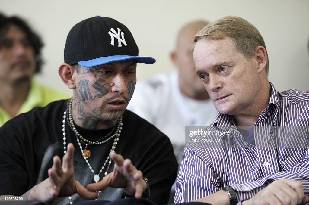 EL SALVADOR-OAS-GANGS : News Photo