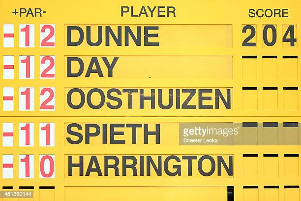 Golf Open Scoreboard Stock Photos And Pictures Getty Images