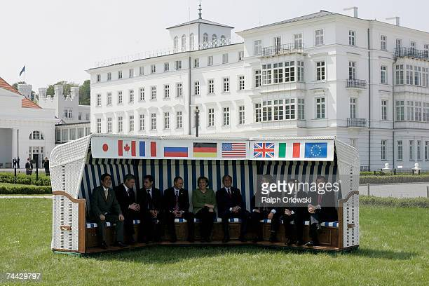 The leaders of G8 industrialized nations Japanese Prime Minister Shinzo Abe Canadian Prime Minister Stephen Harper French President Nicolas Sarkozy...