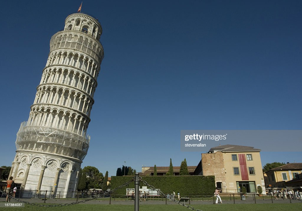an analysis of the leaning tower of pisa The leaning tower of pisa is perhaps the most well-known architectural oddity in  the world the construction of the tower occurred in three phases, spanning.