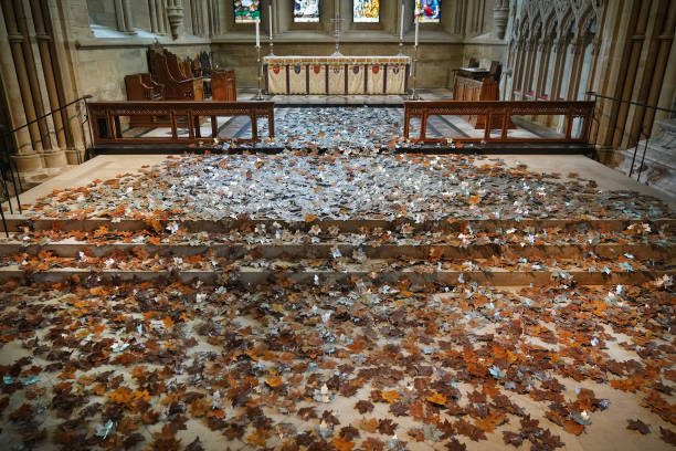 GBR: Southwell Minster Debuts 'Leaves Of The Trees' Art Installation