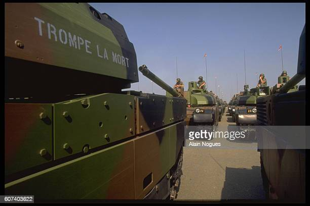 The Leclerc Tank, Stars of 14th of July Parade
