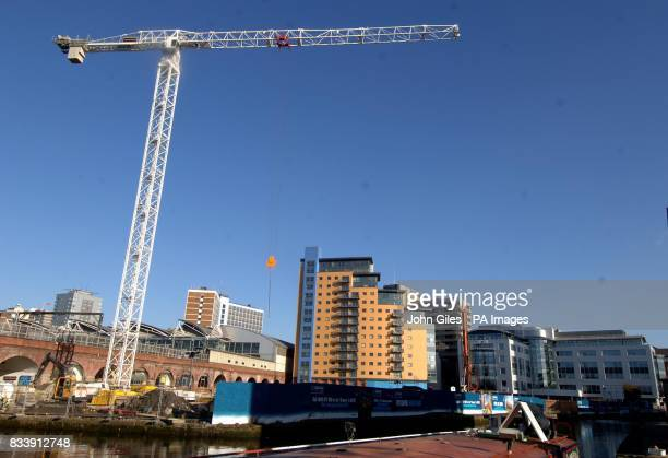 The Leeds city centre skyline is now dominated by blocks of flats/apartments and the construction of new blocks continue