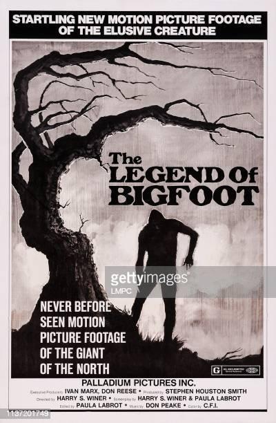 The Legend Of Bigfoot poster US poster art 1976