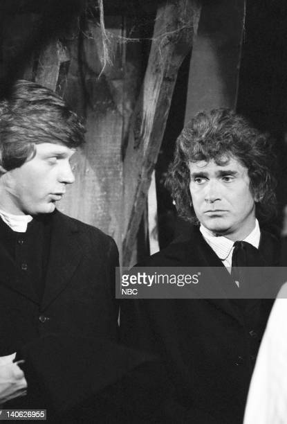 PRAIRIE The Legend of Black Jake Episode 7 Aired 11/16/81 Pictured Dean Butler as Almanzo James Wilder Michael Landon as Charles Philip Ingalls Photo...