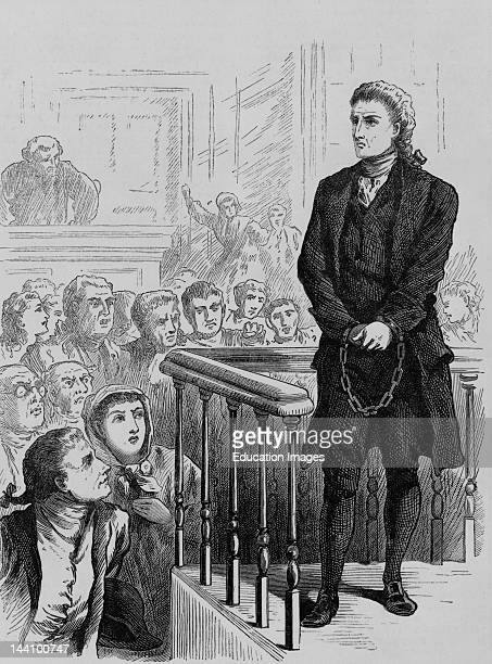 The Rev George Burroughs Was Accused Of Witchcraft On The Evidence Of Feats Of Strength Tried Hung And Buried Beneath The Gallows Illus In Frank...