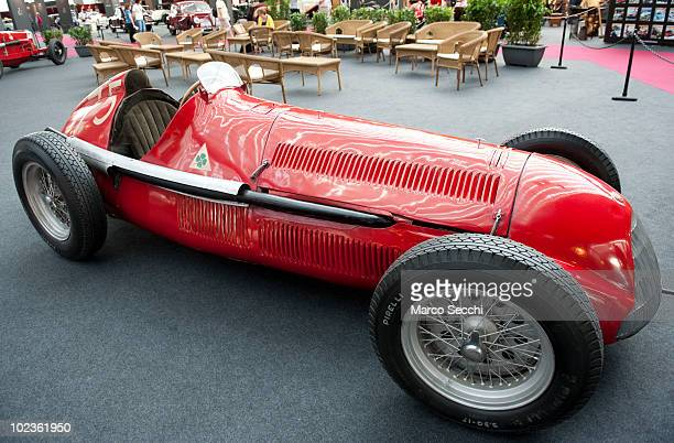 The legendary 1951 Alfa Romeo 159 nicknamed 'Alfetta' that won the 1951 F1 World Championship driven by Manuel Fangio estimated in excess of...