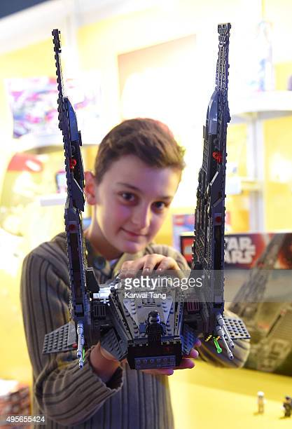The Lego Star Wars Kylo Ren's Command Shuttle is one of the top 12 Dream Toys 2015 revealed at St Marys Church on November 4 2015 in London England