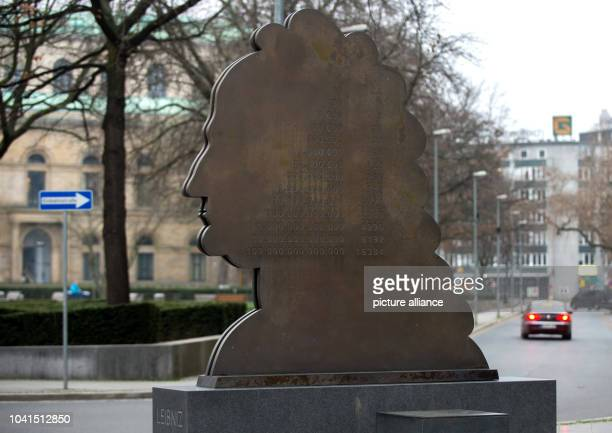 The Leibniz Monument at Opernplatz square in Hanover, Germany, 29 December 2015. Hanover has dedicated the year 2016 to polymath Gottfried Wilhelm...