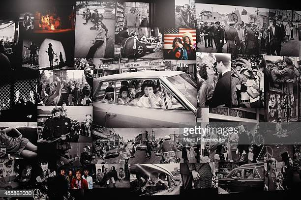 The Leica Gallery at the 2014 Photokina trade fair on September 21 2014 in Cologne Germany Photokina is the world's largest trade fair for cameras...