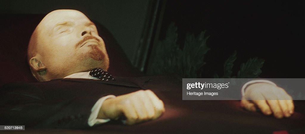The Lenin's dead body ...