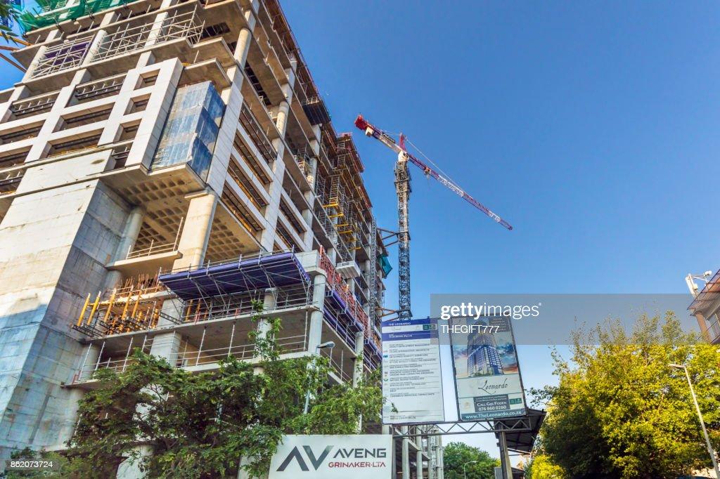 The Leonardo building in Sandton, Johannesburg : Stock Photo