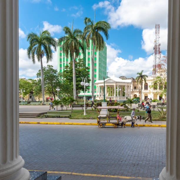 The Leoncio Vidal Park during the day, Santa Clara, Villa Clara, Cuba