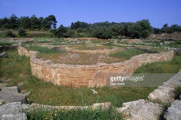 The Leonidaion at the site of the Ancient Olympic Games in Olympia in Greece