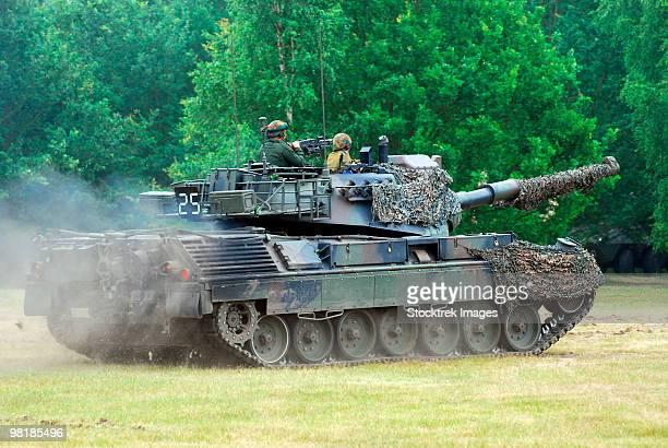 The Leopard 1A5 main battle tank.
