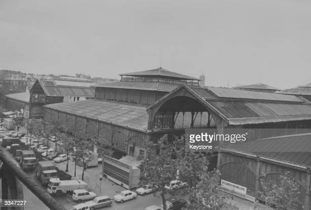 The Les Halles Pavillions in Paris