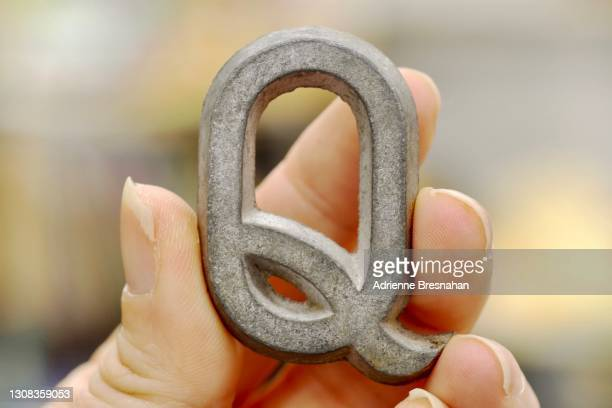 the letter q - qanon stock pictures, royalty-free photos & images