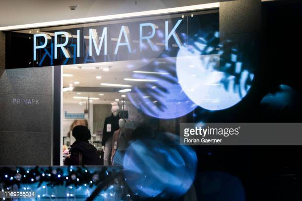 The lettering of Primark is pictured on December 17, 2019 in Berlin, Germany.