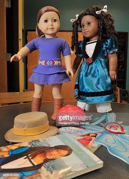 The Lewiston Public Library offers two American Girls dolls and their accessories for checkout Wednesday December11 2013
