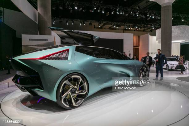 The LEXUS LF-30 Eletrified is shown in its world debut at AutoMobility LA on November 20, 2019 in Los Angeles, California. The four-day press and...