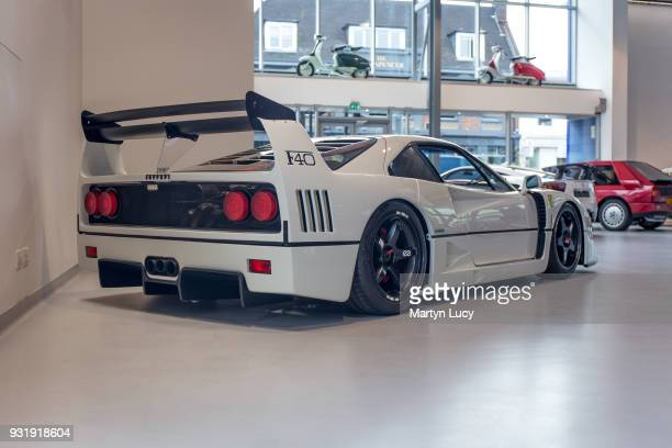 The Liberty Walk 'Dolce' Ferrari F40 KatoSan president of Liberty Walk took the bold move in painting the Ferrari F40 white along with making some...