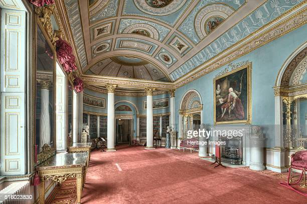 The Library Kenwood House Hampstead London 2011 Kenwood House was remodelled by Robert Adam in the neoclassical style between 1764 and 1773 and was...