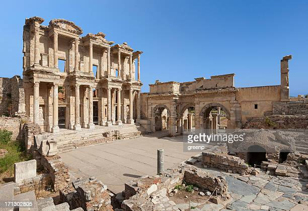 The Library of Celus, Ephesus, Turkey