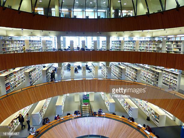 The Library of the WUR.