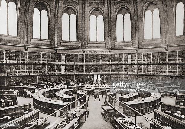 The Library Reading Room British Museum London England In The Late 19Th Century From London Historic And Social Published 1902