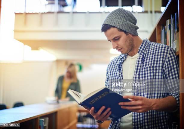 Die Bibliothek ist der beste Ort, um zu studieren