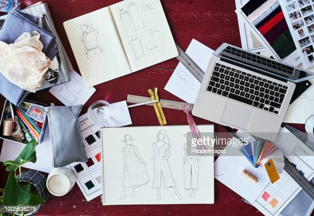 the life of a fashion designer - fashion designer stock pictures, royalty-free photos & images