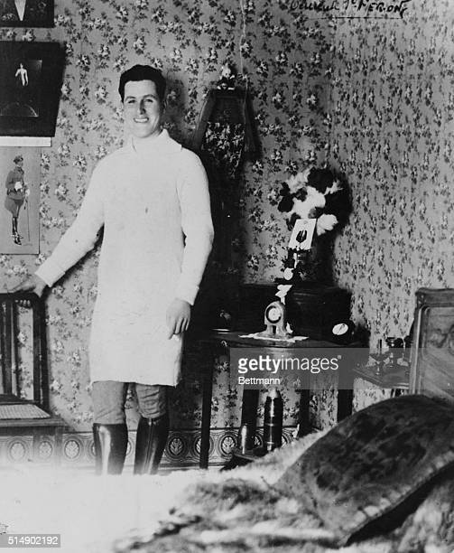 The life of dictator Peron of Argentina Young Peron at the military academy