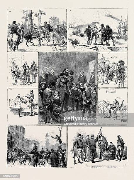 10 Meeting Of Garibaldi And Victor Emmanuel On The Road To Capua After The Battle On The Volturno Oct 26 1860 11 Garibaldi's Return To Caprera...